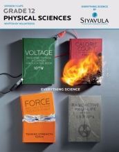 Physical Sciences Grade 12, Siyavula, with solutions to exercises