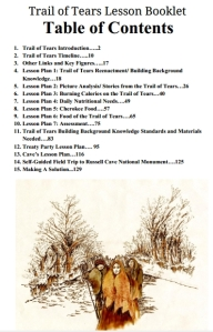 Trail of Tears Lesson Booklet, Grades 5-HS