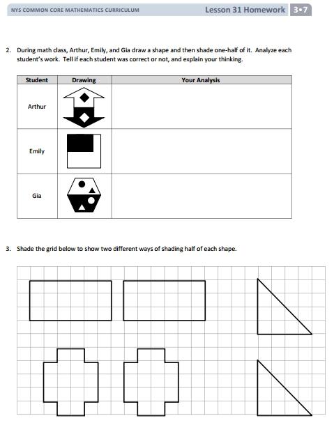 Grades 3 and 4 Full Math Curriculum