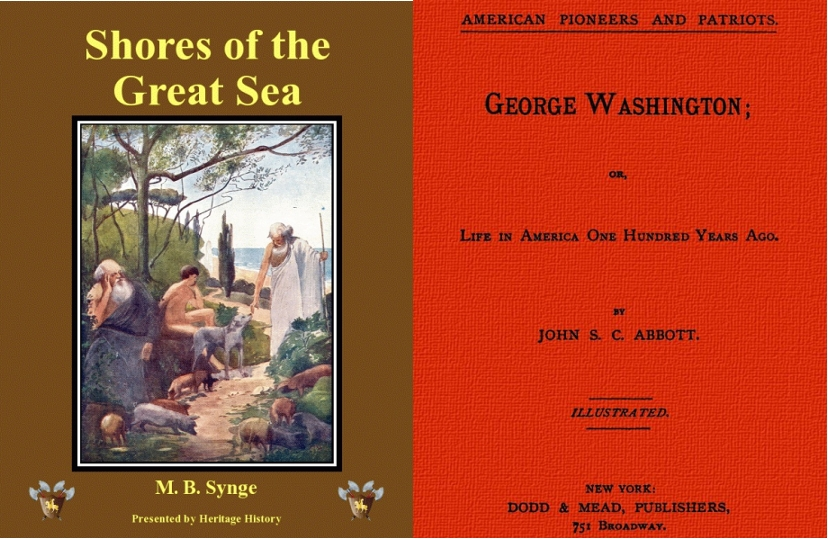 History Books for Young Readers, by Jacob and John Abbott