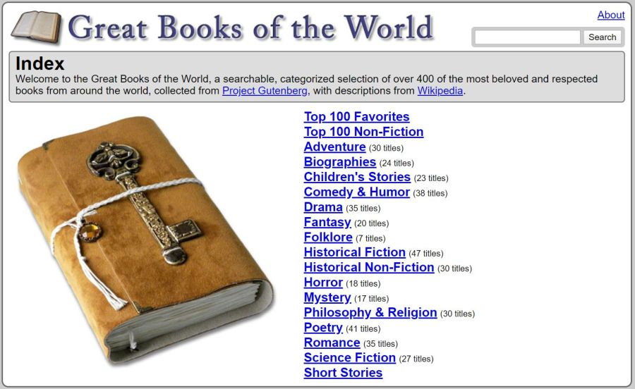 Great Books of the World